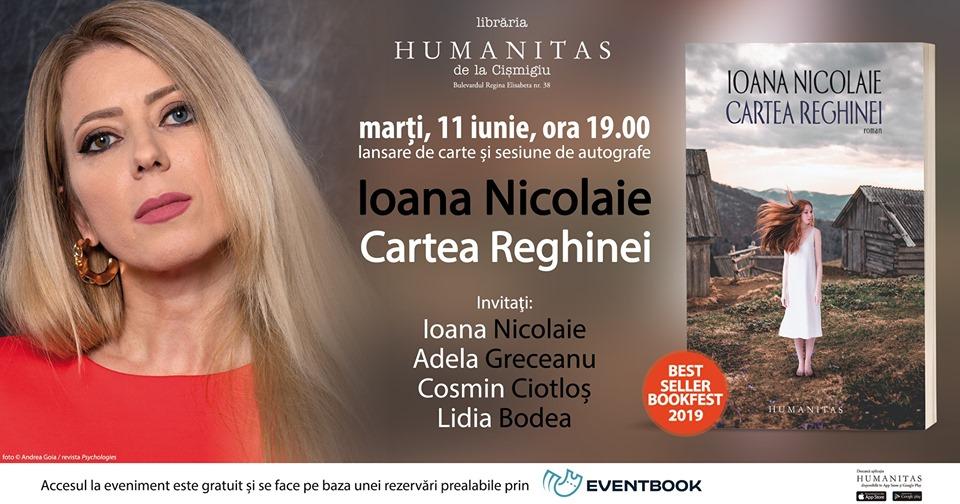 """Despre """"Cartea Reghinei"""" cu Ioana Nicolaie și invitații săi"""