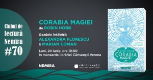 "Club de lectură Nemira #70 - ""Corabia magiei"", de Robin Hobb"