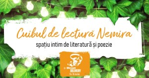 Cuib de lectură Nemira la Street Delivery