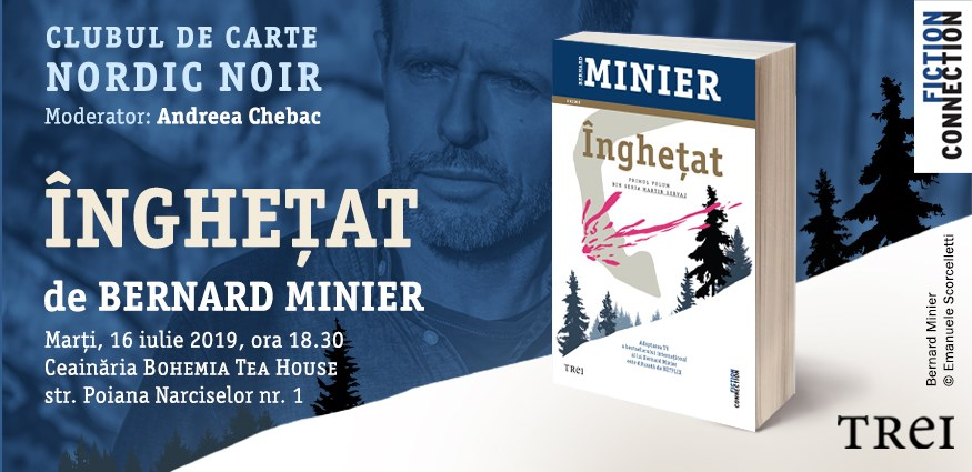 "Clubul de carte Nordic Noir: ""Înghețat"", de Bernard Minier"