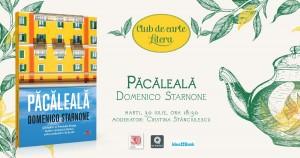 """Club de carte Litera #56: """"Păcăleală"""", de Domenico Starnone"""