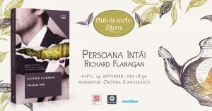 """Club de carte Litera #58: """"Persoana întâi"""", de Richard Flanagan"""