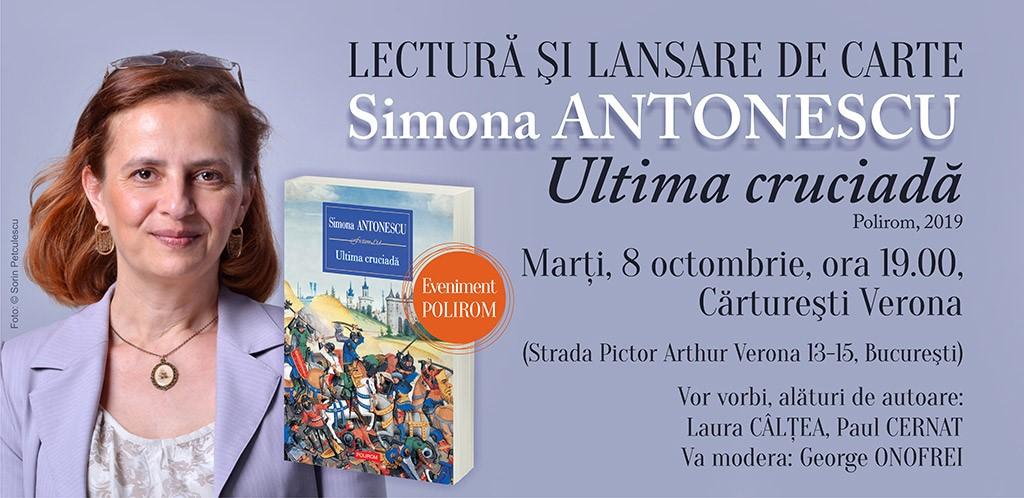 Întâlnire cu Simona Antonescu la Cărtureşti Verona