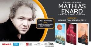 Întâlnire cu Mathias Enard la București