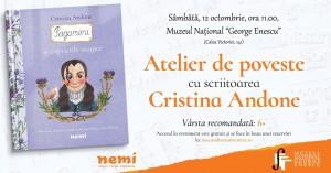 """Atelier de poveste cu Cristina Andone: """"Paganini"""""""