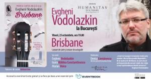 """Evgheni Vodolazkin la București. Lansarea romanului """"Brisbane"""""""