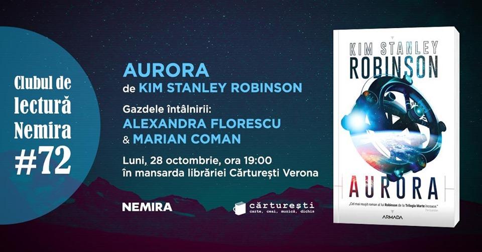 """Club de lectură #72 - """"Aurora"""", de Kim Stanley Robinson"""