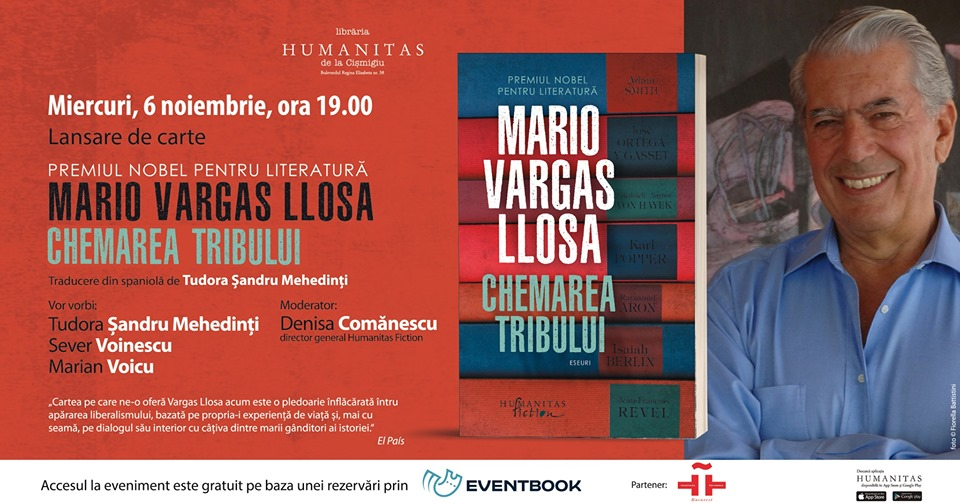 "Lansare ""Chemarea tribului"", de Mario Vargas Llosa"