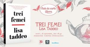 "Club de carte Litera #60: ""Trei femei"", de Lisa Taddeo"