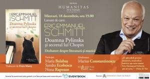 "Eric–Emmanuel Schmitt – ""Doamna Pylinska și secretul lui Chopin"""