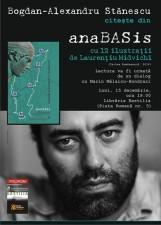 """Bogdan-Alexandru Stănescu citește din """"anaBASis"""" la Bastilia"""