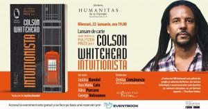 "Lansare ""Intuiționista"", de Colson Whitehead"