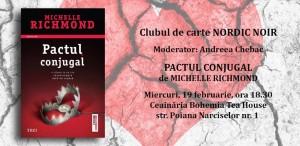 "Clubul de carte Nordic Noir: ""Pactul conjugal"", de Michelle Richmond"
