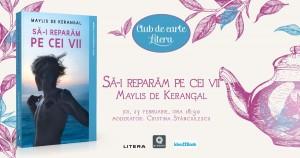 """Club de carte Litera #63: """"Să-i reparăm pe cei vii"""", de Maylis de Kerangal"""