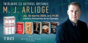 """M.J. Arlidge lansează la București romanul """"De-a v-ați ascunselea"""""""