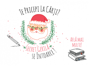 Secret Santa se întoarce pe Booktopia.ro