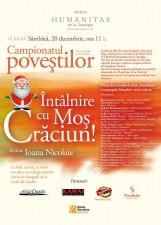 Întâlnire cu Moş Crăciun la Librăria Humanitas de la Cişmigiu