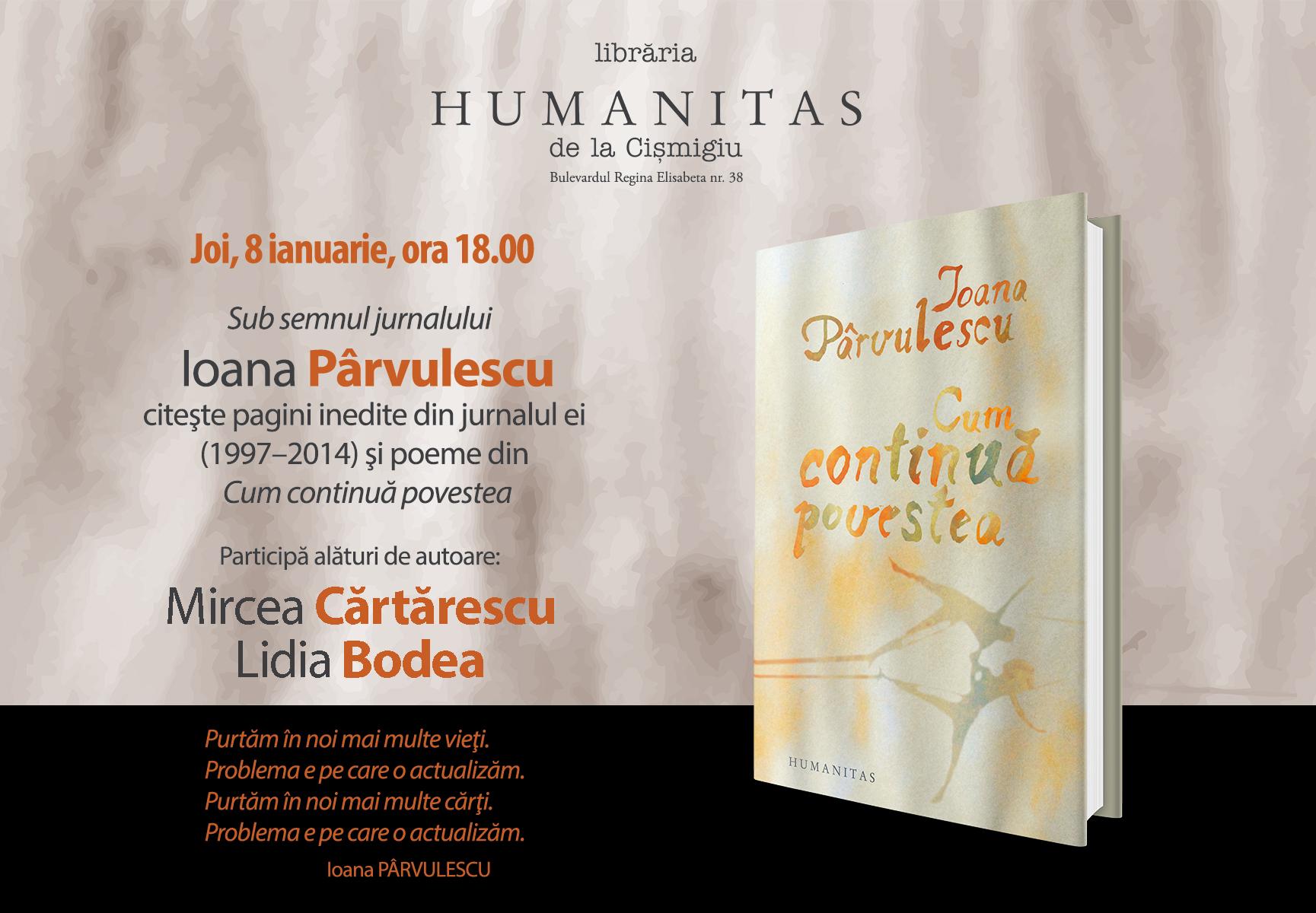 Ioana Pârvulescu, poeme și pagini inedite de jurnal