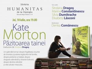 """Lansare de carte: """"Păzitoarea tainei"""", de Kate Morton"""