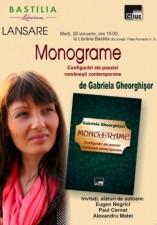 Lansare: Monograme. Configurări ale poeziei românești contemporane