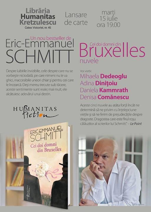 Seară Eric-Emmanuel Schmitt