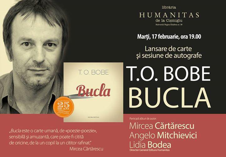 """Lansare de carte, """"Bucla"""", de T.O. Bobe"""