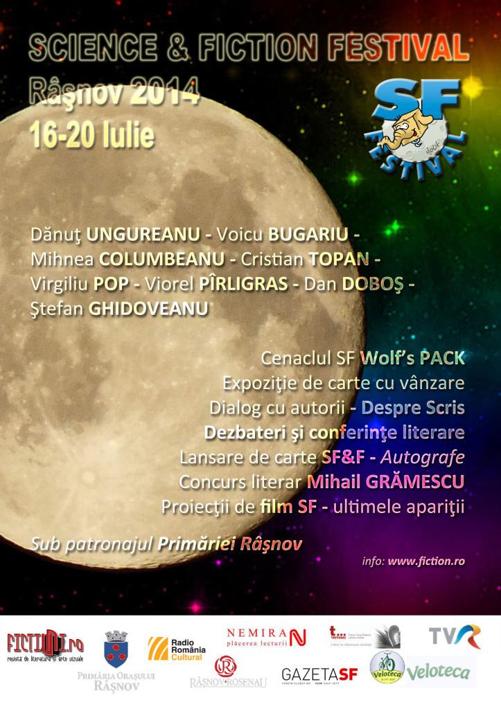 Festivalul Science & Fiction, Râşnov 2014