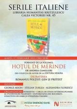 """Serile Italiene: """"Hoțul de merinde"""", de Andrea Calogero Camilleri"""