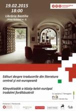 Edituri despre traduceri din literatura central- și est-europeană