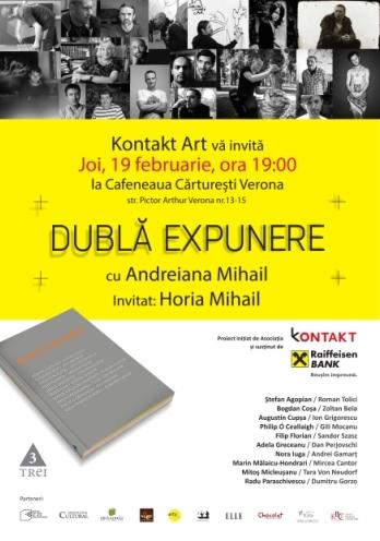 """Dublă expunere"", cu Adriana Mihail și Horia Mihail"