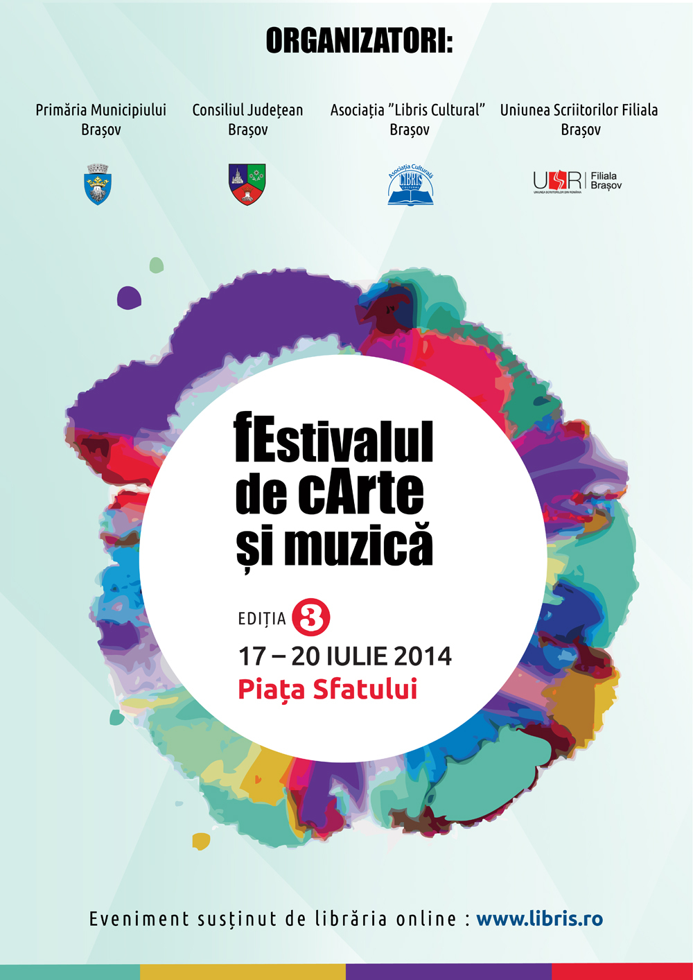 fEstivalul de cArte şi Muzică Brașov