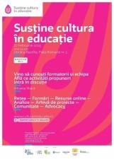 """Lansarea rețelei naționale """"Susține cultura în educație"""""""