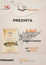 """Întâlnire Seara de Carte București: discuție despre """"Laur"""", de Evgheni Vodolazkin"""