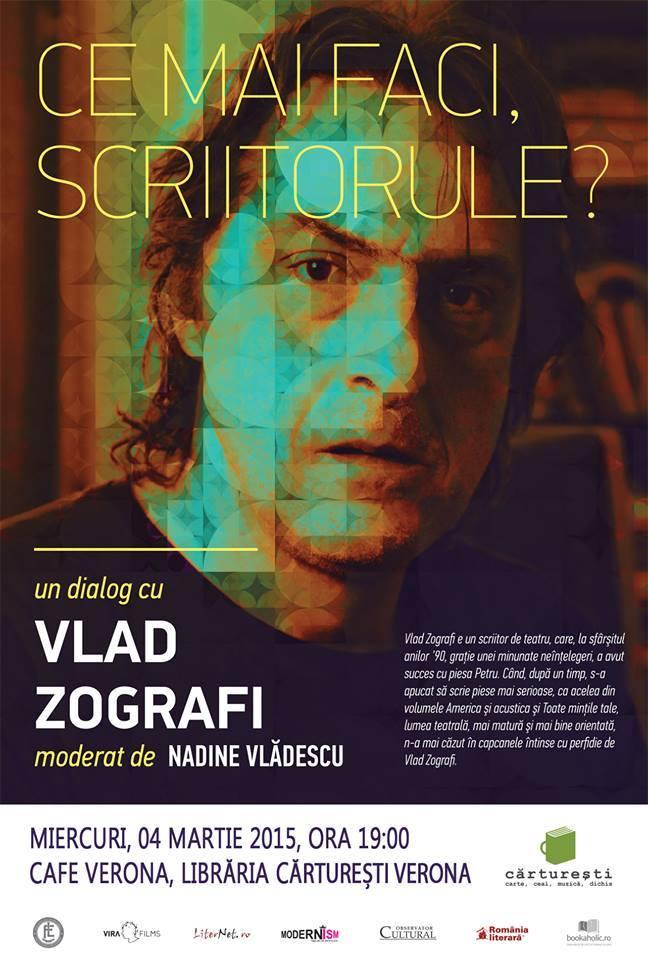 """Vlad Zografi la """"Ce mai faci, scriitorule?"""""""