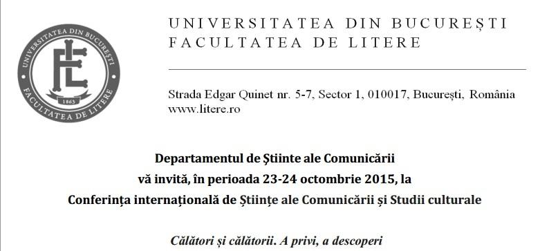 Conferința internațională de Științe ale Comunicării și Studii culturale