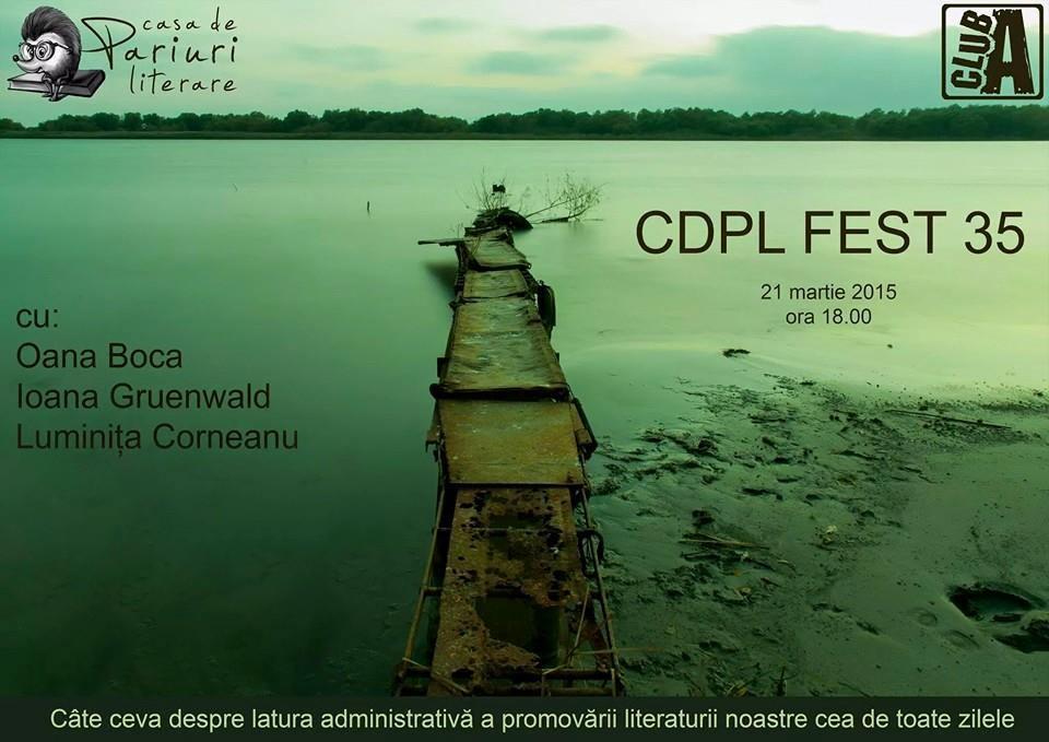 Oana Boca, Ioana Gruenwald și Luminița Corneanu la CDPL FEST 35