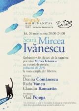 Seară Mircea Ivănescu la Librăria Humanitas Sibiu