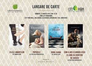 Cristina Nemerovschi, Corina Ozon și Lorena Lupu își lansează cărțile la Constanța
