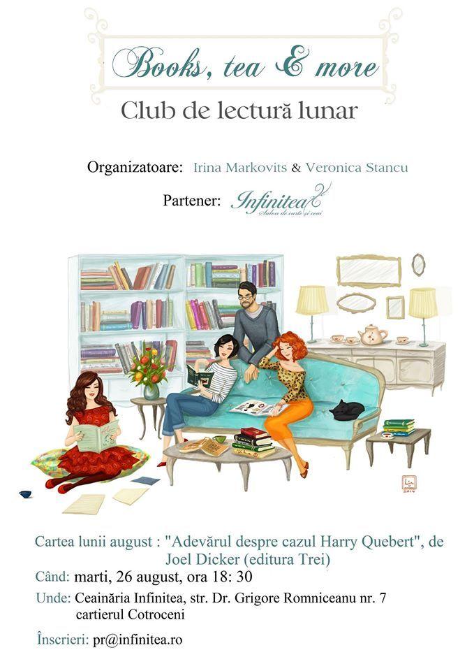 Books, tea & more – Club de carte. Adevărul despre cazul Harry Quebert