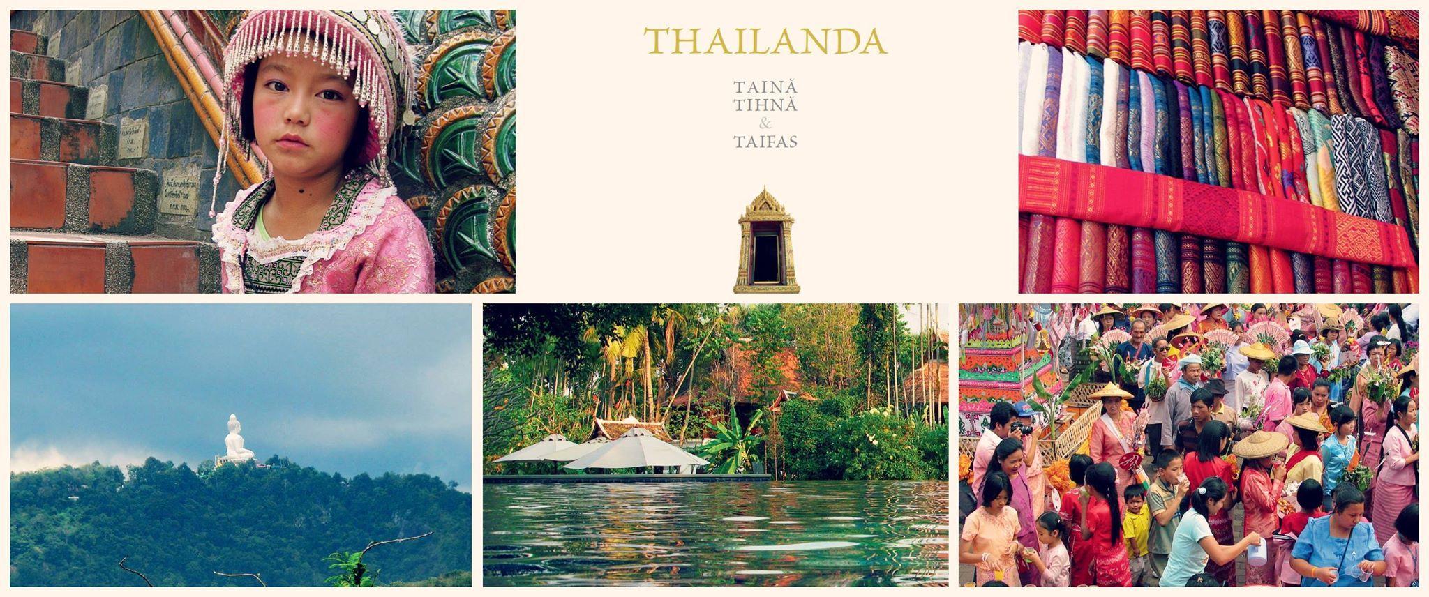 """Lansare de carte, """"Thailanda: taină, tihnă & taifas"""""""