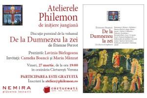 """Al IV-lea Atelier Philemon şi lansarea cărţii """"De la Dumnezeu la zei"""", de Etienne Perrot"""