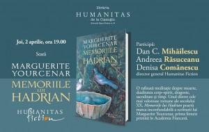 """Lansare """"Memoriile lui Hadrian"""", de Marguerite Yourcenar"""