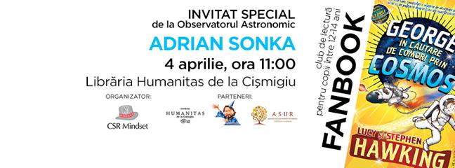 Fanbook Science, invitat special Adrian Sonka