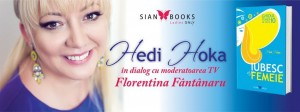 Hedi Hoka în dialog cu Florentina Fântânaru la Cărturești Verona