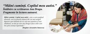 """Lansare """"Mâini cumiți: Copilul meu autist"""", la București"""