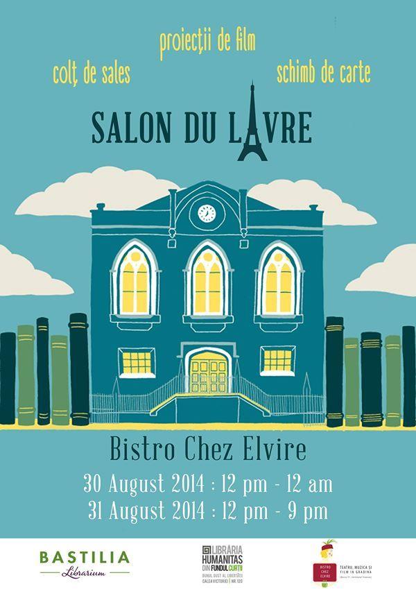 Salon du livre @ Chez Elvire
