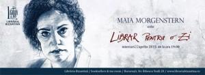 Librar pentru o zi este Maia Morgenstern