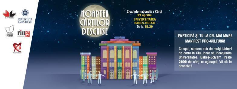 Noaptea Cărților Deschise la Cluj