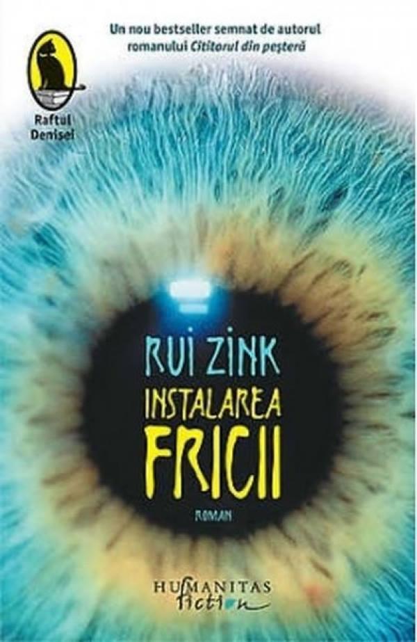 """Seara de Carte București, discuție despre """"Instalarea fricii"""", de Rui Zink"""