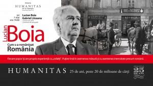 """Discuție despre """"Cum s-a românizat România"""", noul volum semnat de Lucian Boia"""